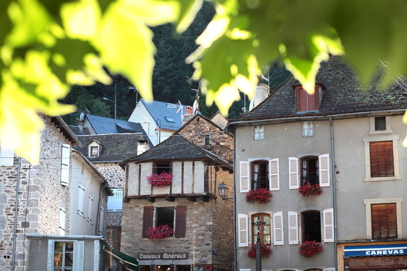 Thermal town of Chaudes-Aigues-2
