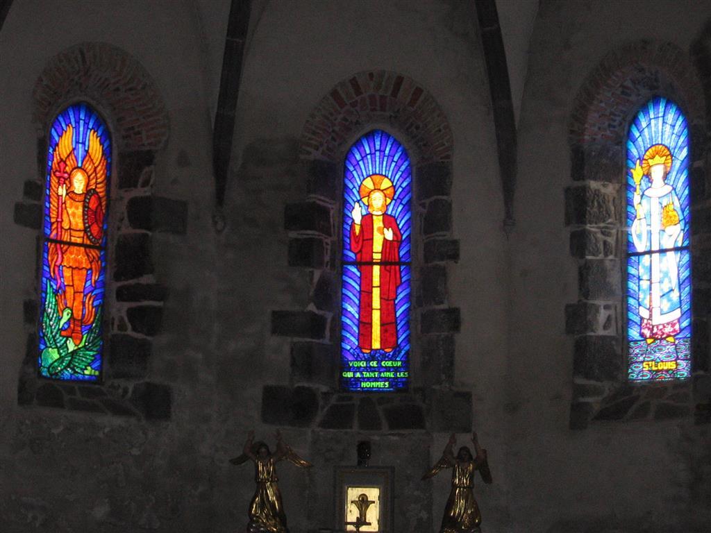 Fressanges Church, near Neuveglise-2
