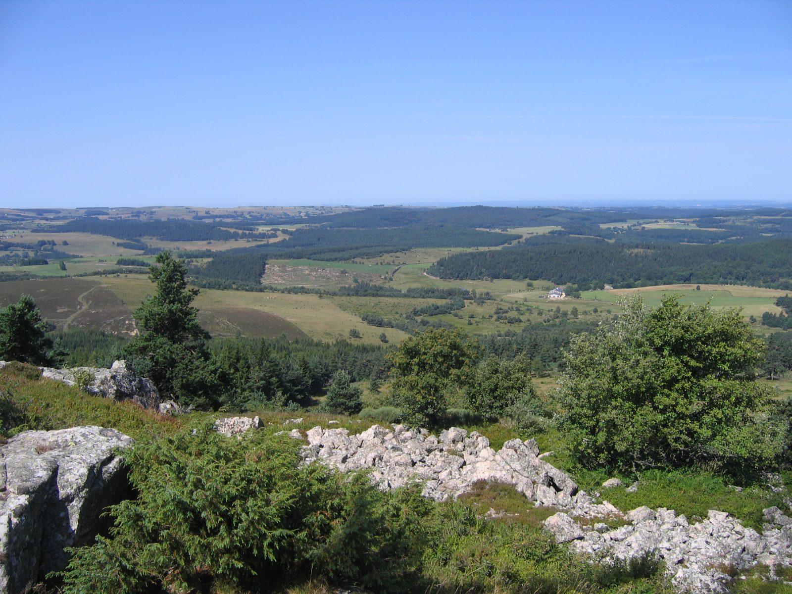"Puy de la Tuile peak and ""apprenti botaniste"" discovery path-2"