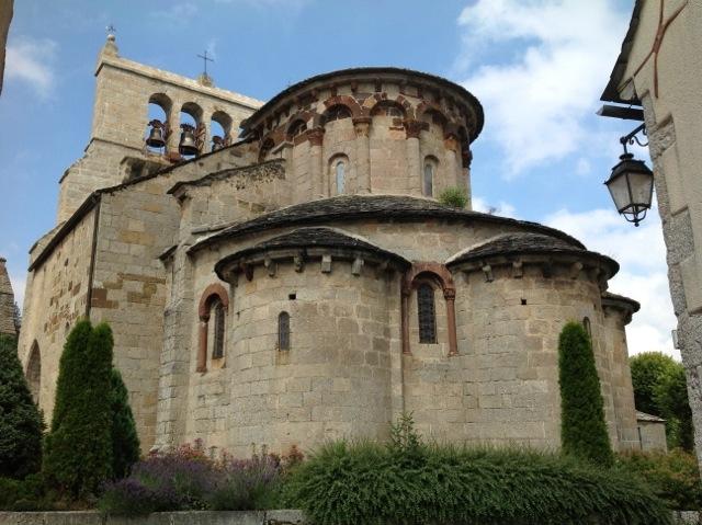 Roman church of Saint-Urcize-2
