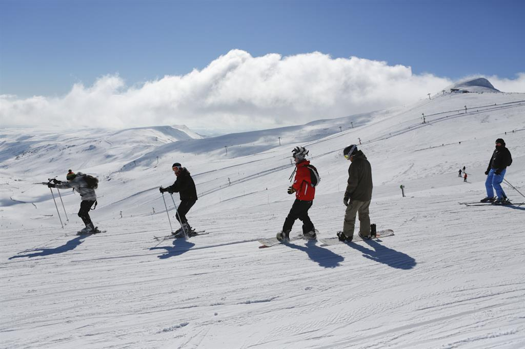 Prat de Bouc Haute Planèze Nordic Skiing Area-8