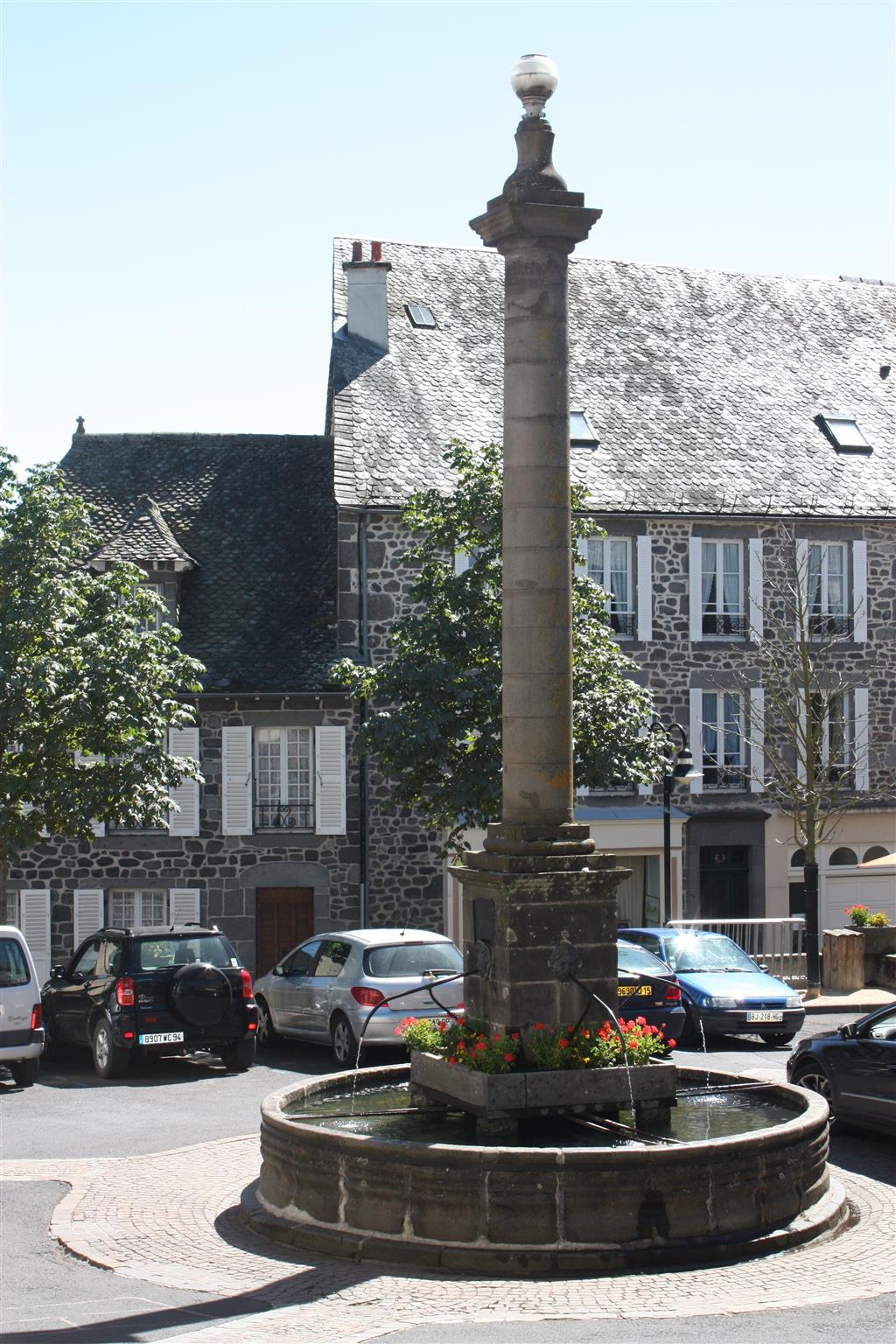 Pierrefort, a mountain market town-4