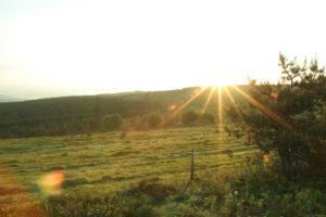 Randonnée Lever de soleil sur les crêtes de la Margeride - Les Pays de Saint-Flour - Cantal