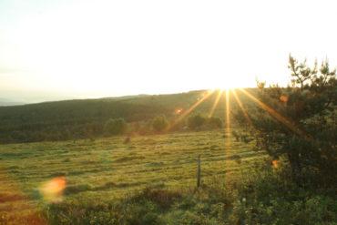 Lever de soleil en Margeride - Cantal