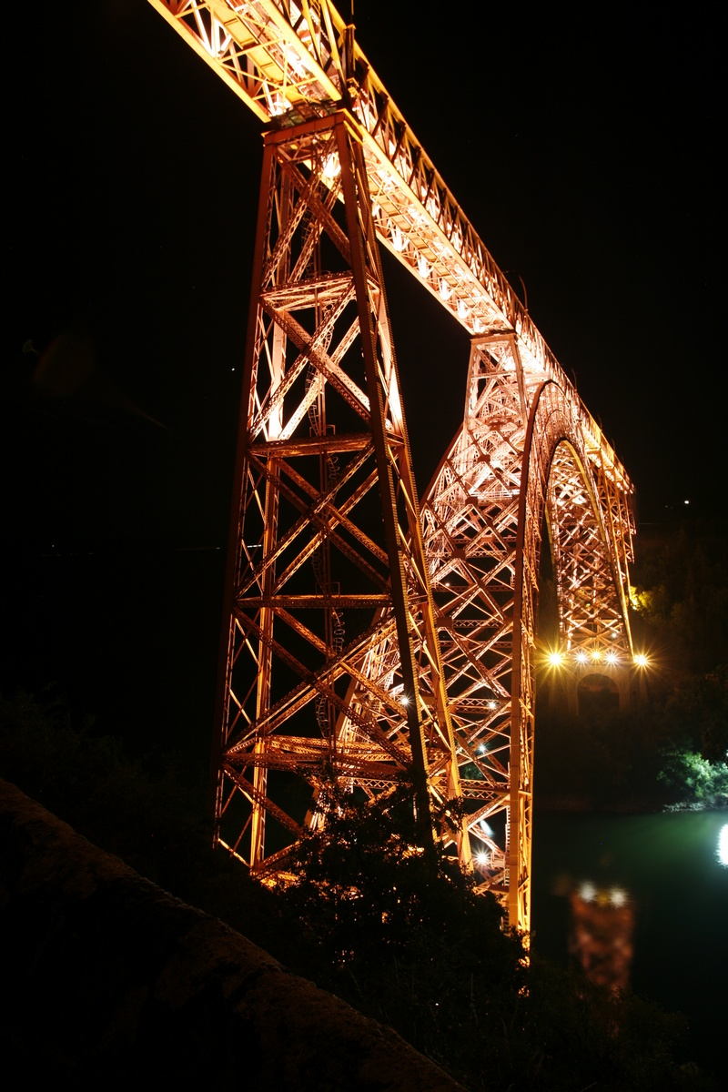 Het viaduct van Garabit, oeuvre van Eiffel-6
