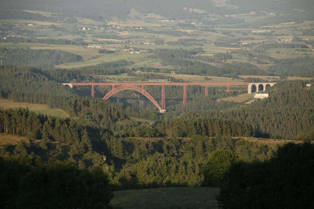 Het viaduct van Garabit, oeuvre van Eiffel-8