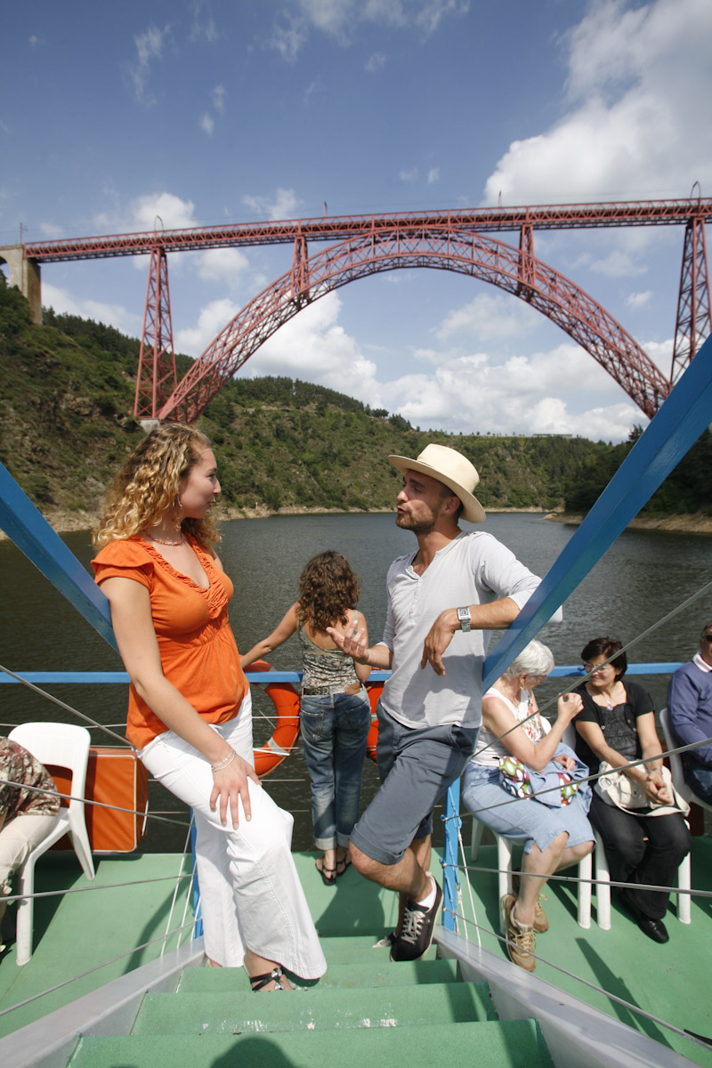 Het viaduct van Garabit, oeuvre van Eiffel-9