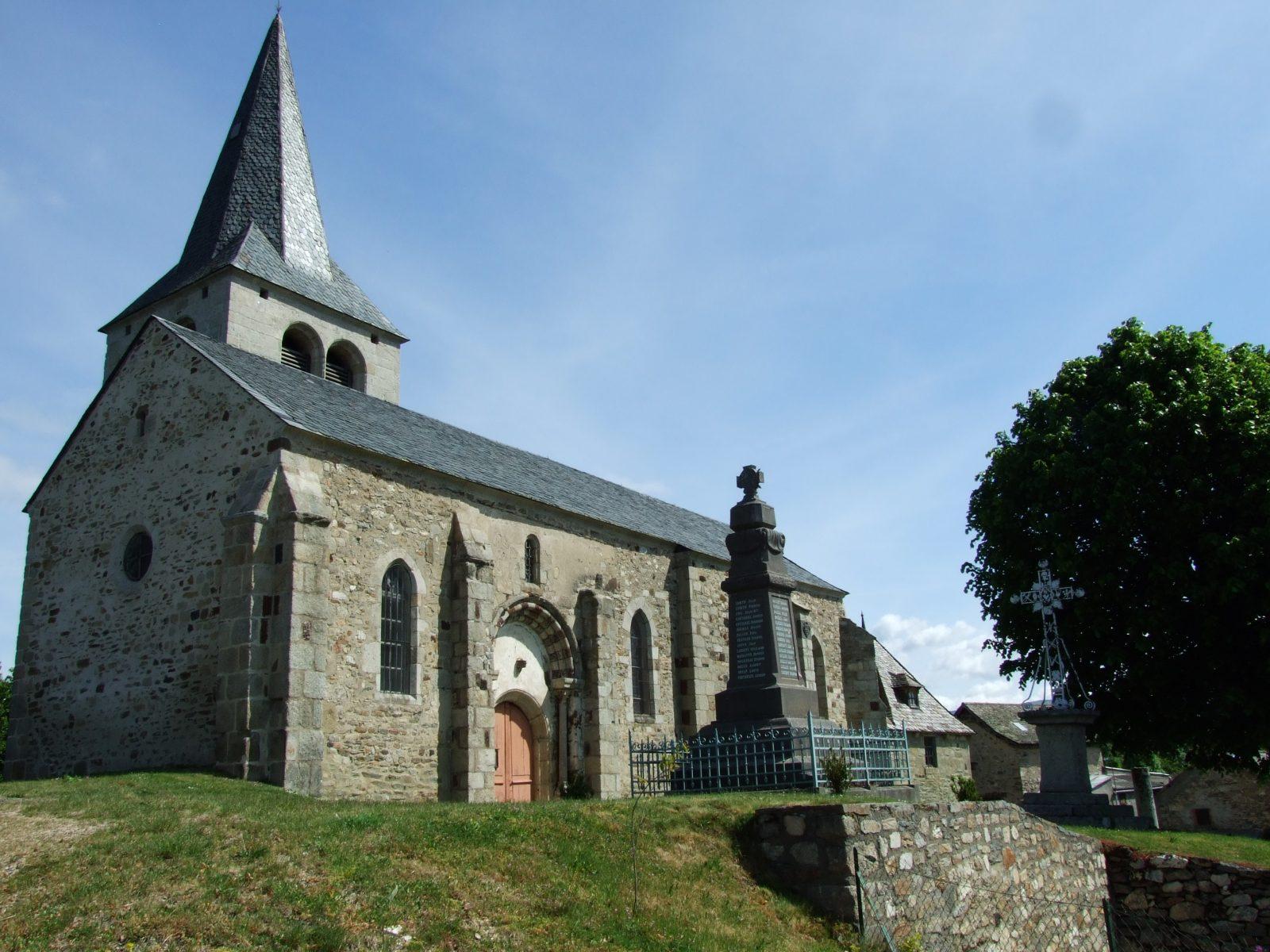 Village de Chaliers, dominant la Truyère-4