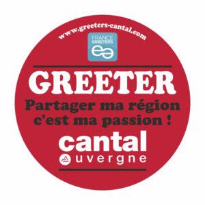 Visuel badge greeterrs Cantal