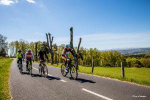 Boucle cyclo RBX - Romain Bardet expérience Cantal - Saint-Flour