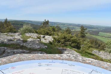 Panorama du Puy de la Tuile - Cantal - Aubrac