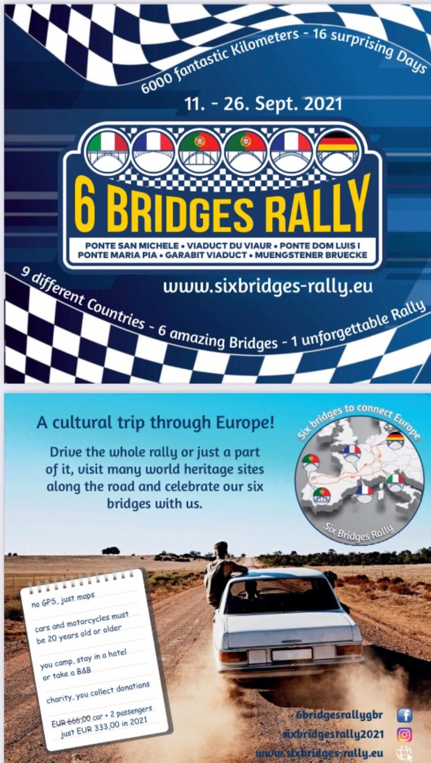 affiche 6 bridges rally