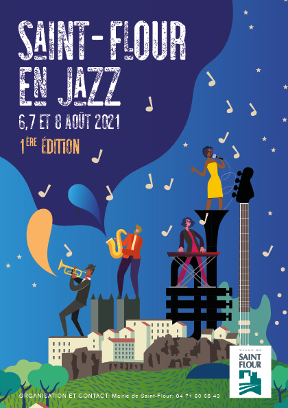 Affiche st flour jazz 2021