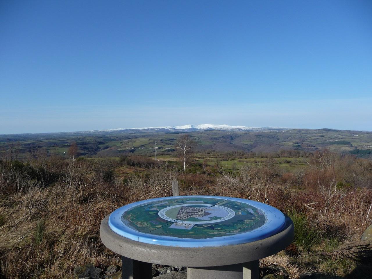 Table d'orientation du Mont Mournac-2