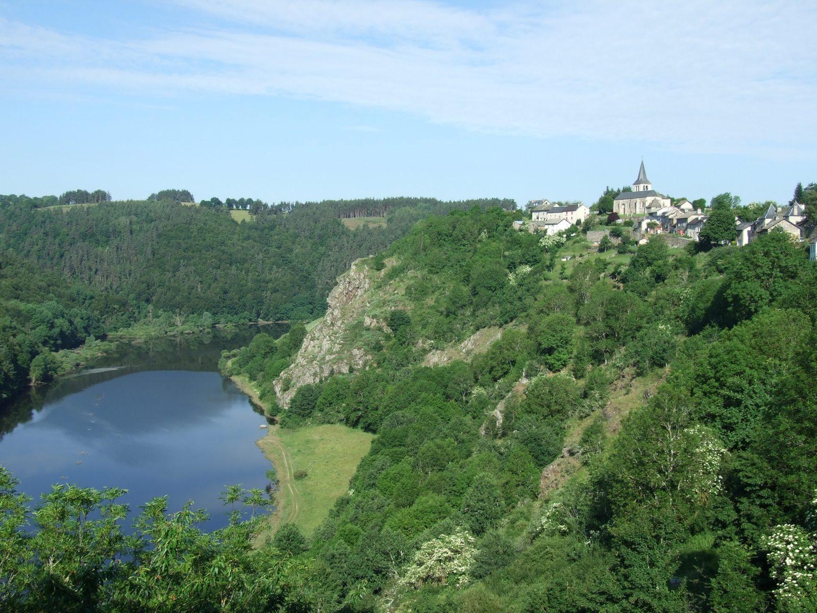 Gorges de la Truyère, lacs de Garabit-Grandval et Lanau-2