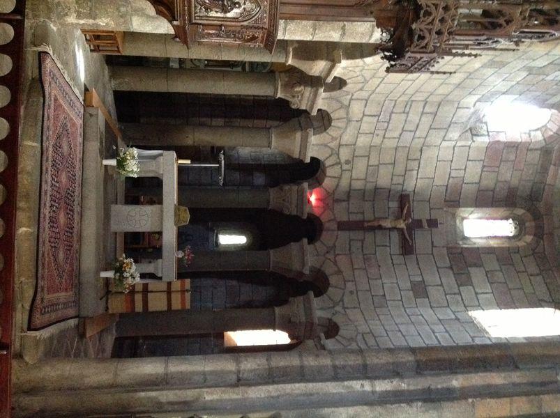 Église romane de Saint-Urcize-7