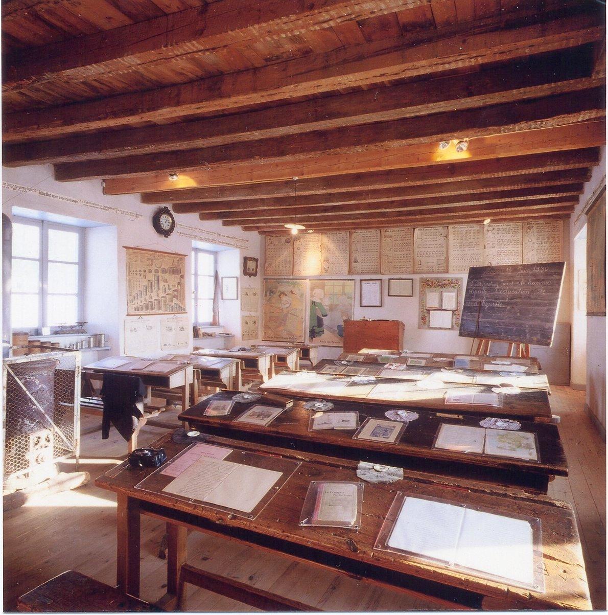 Ecole de Clémence-Fontille – Ecomusée de Margeride-1