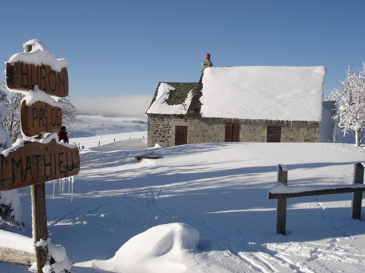 Station de sports d'hiver de Saint-Urcize-10