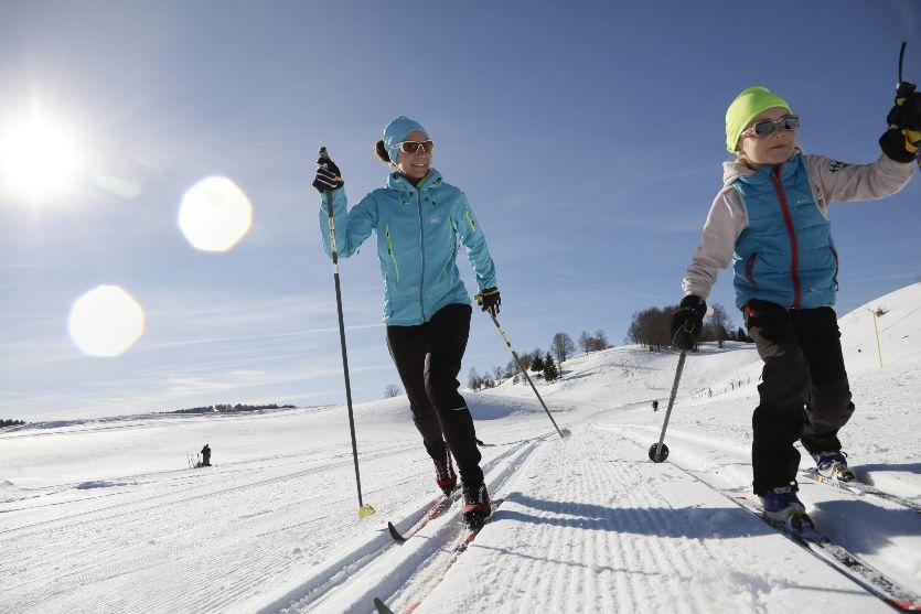 Cours de ski de fond classique offerts – Domaine nordique Prat de Bouc Haute-Planèze-1